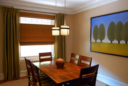 dining room shade photo gallery