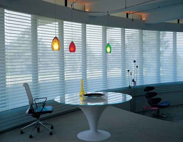 Silhouette Shades home office