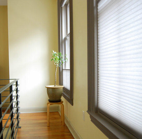 window treatments for the hallway