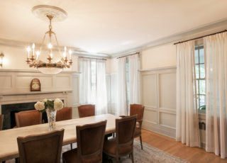 drapes for the dining room