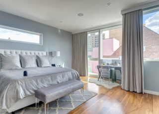 bedroom drape ideas