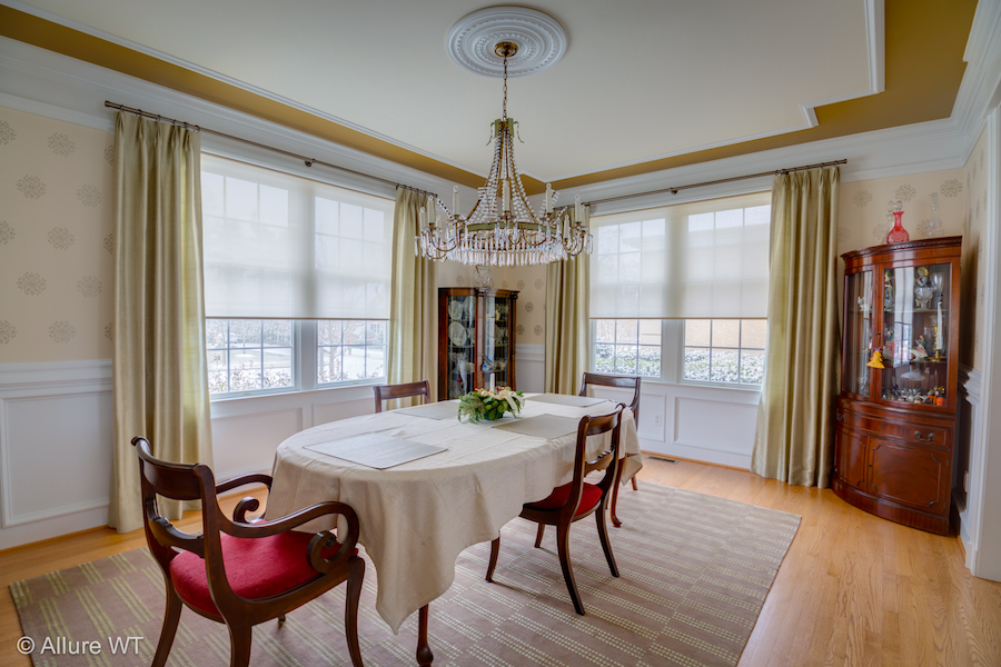 Dining Room Window Treatment Design Ideas Photo Gallery