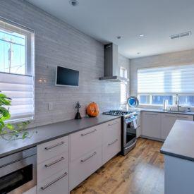 kitchen window treatment photo gallery