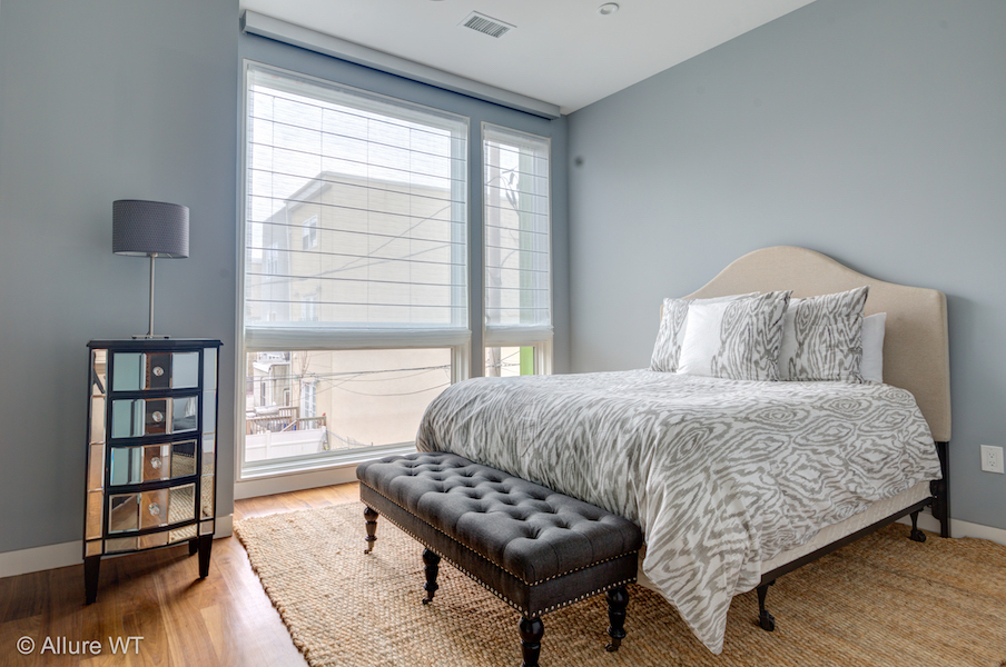 bedroom window treatment ideas