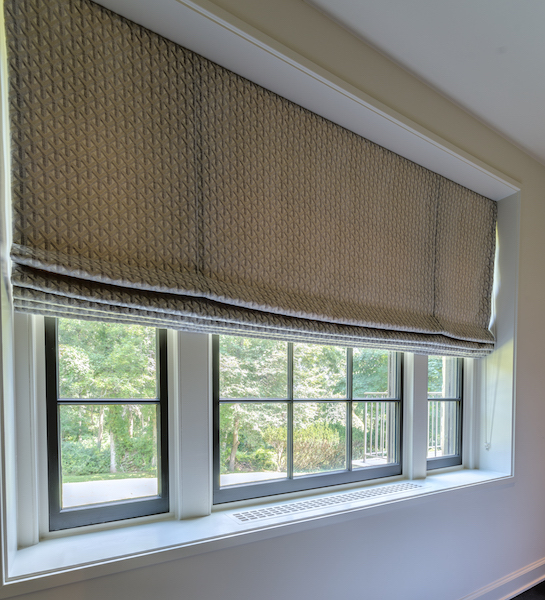 entry way window treatments