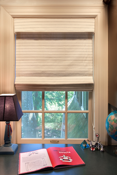 images of roman shades