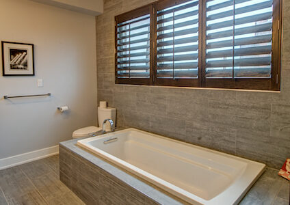 bathroom privacy shutters