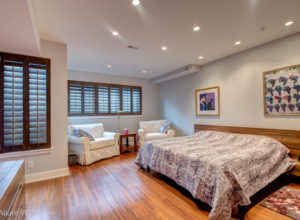 shutters for the bedroom