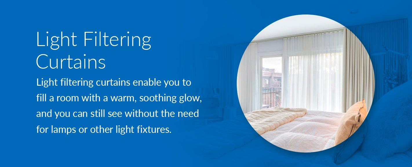 light filtering curtains