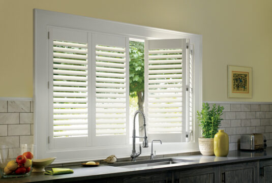 SHUTTERS-Bi-Fold Hinged Panels_Open